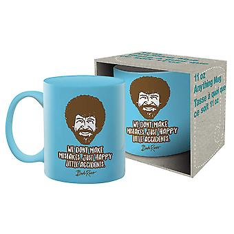 Bob Ross Accidents Ceramic Mug