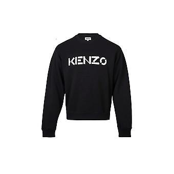 Kenzo Classic Logo Musta Collegepaita