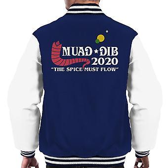 Dune Muad Dib 2020 Campagne électorale Men-apos;s Veste Varsity