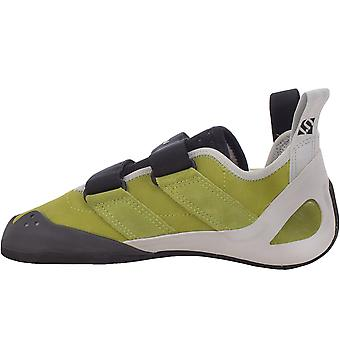 Five Ten Mens Gambit VCS Leather Hook and Loop Wall Climbing Shoes - Green