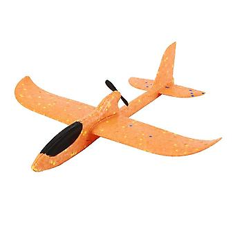 Electric Assisted Glider Foam Powered Flying Plane - Rechargeable Electric Aircraft Model Educational Toys For Children