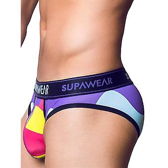 Supawear Sprint Letter Bubblegum Purple | Men's Underwear | Men's Slip