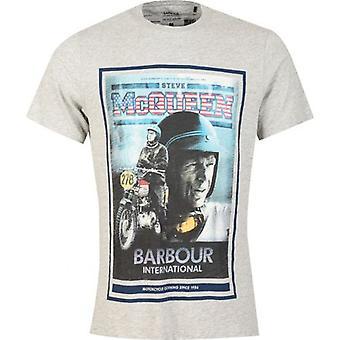ברבור סטיב מקווין הבינלאומי בון חולצת טריקו