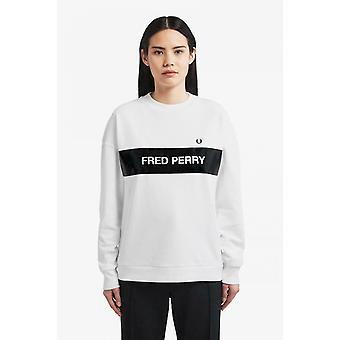 Fred Perry Women's Printed Sweatshirt G6109-100