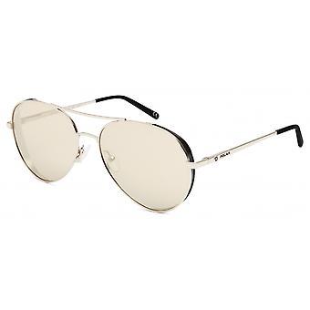 Sonnenbrille Unisex  Harley polarisiertes Weißgold (phar78)