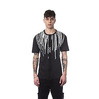 Nicolo Tonetto Nero Black T-Shirt NI682021-S