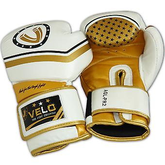 VELO Cowhide Leather Boxing Gloves PR7