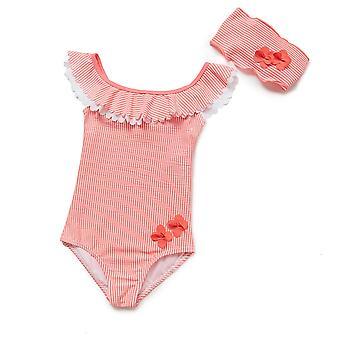 Bonverano Baby Girls Sunsuit UPF 50+ Sun Protection Forrado One Piece Swimsuit