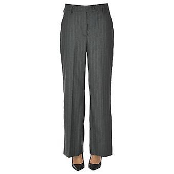 I.c.f. Ezgl456027 Women's Grey Wool Pants