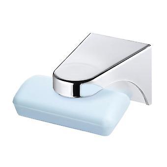 Magnetický mýdlo miska kontejner dávkovač, nástěnný adhezní mýdlo držák do kuchyně,