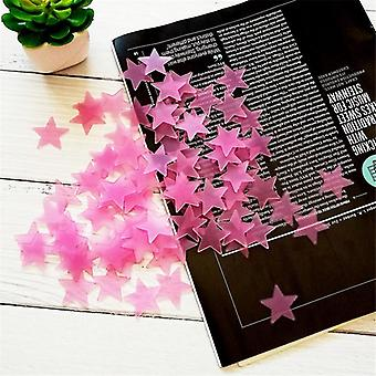 3cm Luminous Star Stickers - Sofa Fluorescent Painting Toy