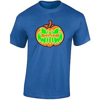 Grijnzende Jack Halloween Glow In The Dark Mens T-Shirt 10 kleuren (S-3XL) door swagwear