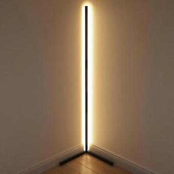 Tompító fekete fehér állólámpa, modern RGB távoli led állólámpák