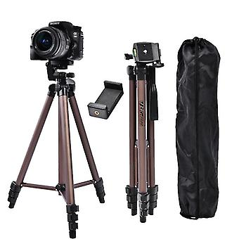 Profesional Aluminum Wt-3130, Mini Tripod With Smartphone Holder