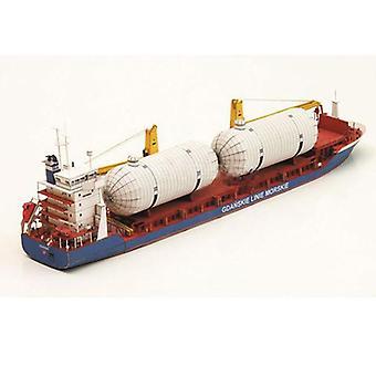 Gdansk Cargo Ship Handcraft 3d Paper Card Model