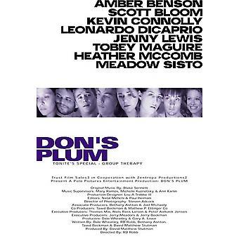 Dons Pflaume Film Poster drucken (27 x 40)