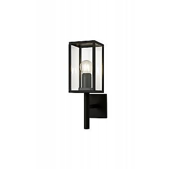 Lowri Upward Wall Lamp, 1 X E27, Ip54, Graphite Black, 2yrs Warranty