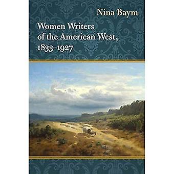 Vrouwen schrijvers van het Amerikaanse Westen, 1833-1927