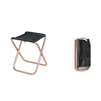 Portable Aluminum Fold-able Stool For Outdoor