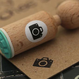 Kameraet veldig Mini tre stempel håndverket / Scrapbooking / stempling
