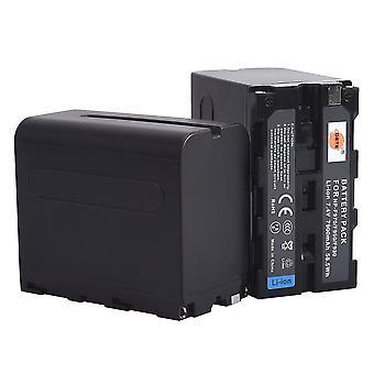 Dste®(2 pack)baterie de rezervă pentru sony np-f970 ccd-sc55 ccd-sc65 ccd-tr67 ccd-tr76 ccd-tr87 ccd-tr