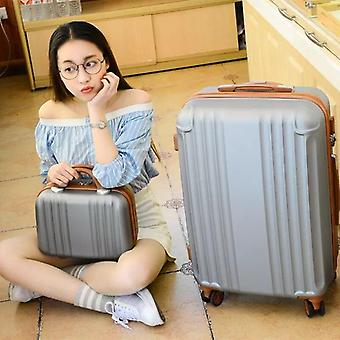 Women Travel Suitcase Spinner Wheels, Ons Trolley Luggage Set Cabin Trolley