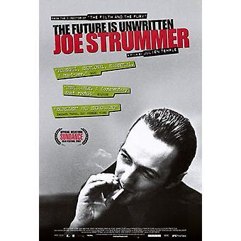 Joe Strummer tulevaisuus on kirjoittamaton elokuvajuliste (11 x 17)