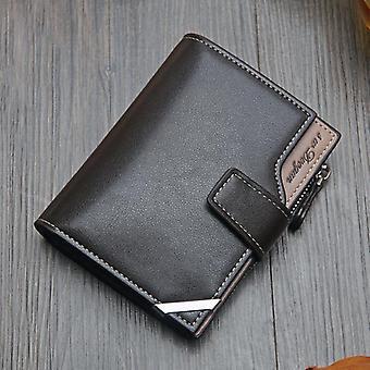 New Korean Casual Men's Wallet, Short Casual Multi-function Card Bag