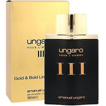 Emanuel Ungaro Ungaro Pour L'Homme III Gold & Bold Limited Edition Eau de Toilette Spray 100ml