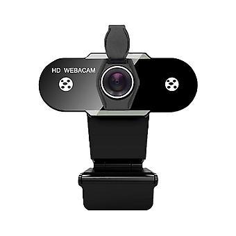 Hd 1080p Webcam 2k Tietokone Pc Web-kamera mikrofonilla suoraa lähetystä varten