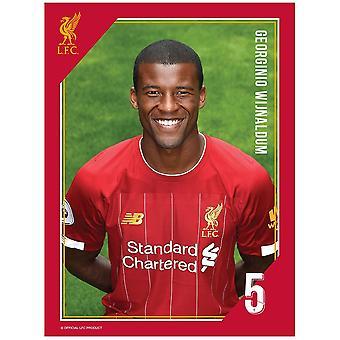 Liverpool FC Wijnaldum Print