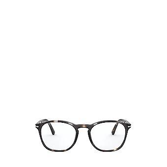 Persol PO3007VM gafas masculinas a rayas y machos de humo