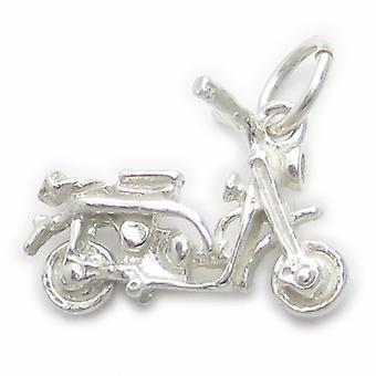 Motorrad Sterling Silber Charm .925 X 1 Motorrad Motorräder Charms - 4532