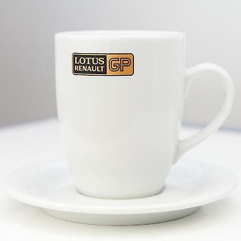 Lotus Renault Gp F1 Team Latte Mug And Saucer
