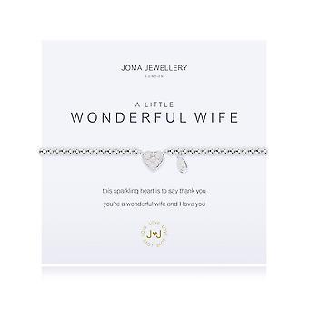 Joma Jewellery A Little Wonderful Wife Bracelet 1483