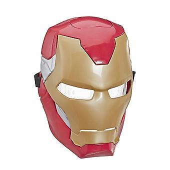 Masker Iron Man Flip Fx Rood / Goud