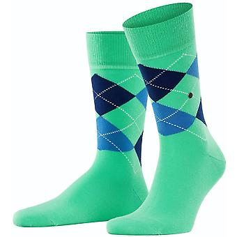 Burlington King Socks - Jade Cream