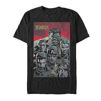 Marvel Zombies Zombie Groupshot T-paita