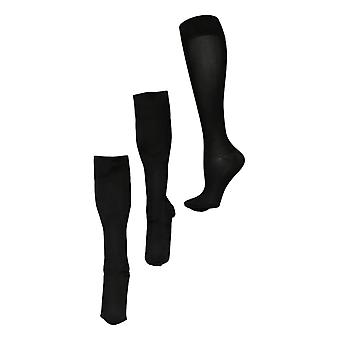Legacy Men's L/XL Graduated Compression Socks Set of 2 Nylon Socks A370524
