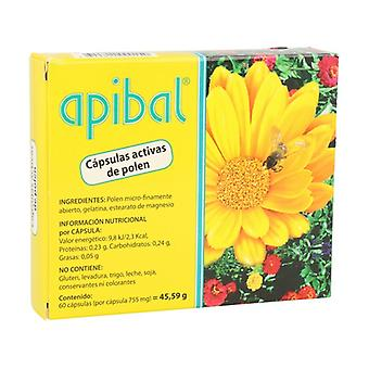 Apibal (microfinely open pollen) 60 capsules of 755mg (755mg)