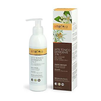Tonic Milk 2 In 1 Edelweiss Sensitive Skin And Orange Flowers 200 ml