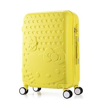 Students Travel Luggage Trolley Case