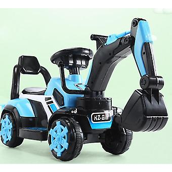 Children's Electric Car Toy, Remote Control Knight Excavator