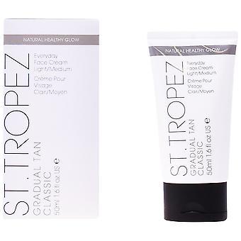St.tropez Gradual Tan Classic Face Cream Light / Medium 50 ml