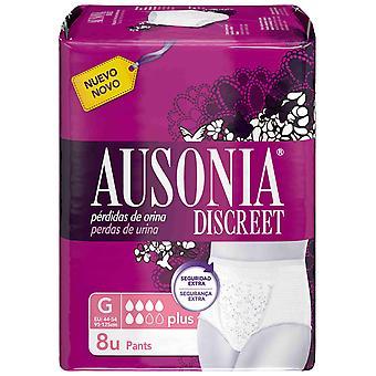Ausonia Discreet Pants Plus Size G 8 Unidades