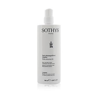 Sothys Vitality Cleansing Milk - For Normal to Combination Skin   With Grapefruit Extract (Salon Size) 500ml/16.9oz
