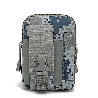 Men Outdoor Tactical Molle Pouch Belt Waist Pack Bag