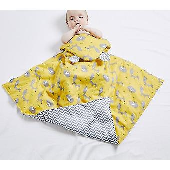 Cotton Sleeping Bag, Soft Blanket, Autumn And Winter Crib Quilt For Baby