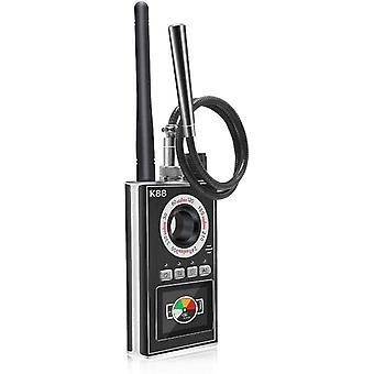 Spy Detector Hidden Camera Detector RF Signal Detector GPS Tracker Detector Laser Lens GSM Device Detector (Black)
