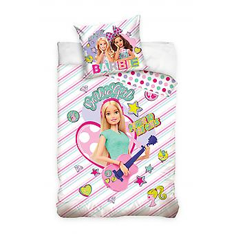 cover Barbie Girl 140 x 200 cm pink